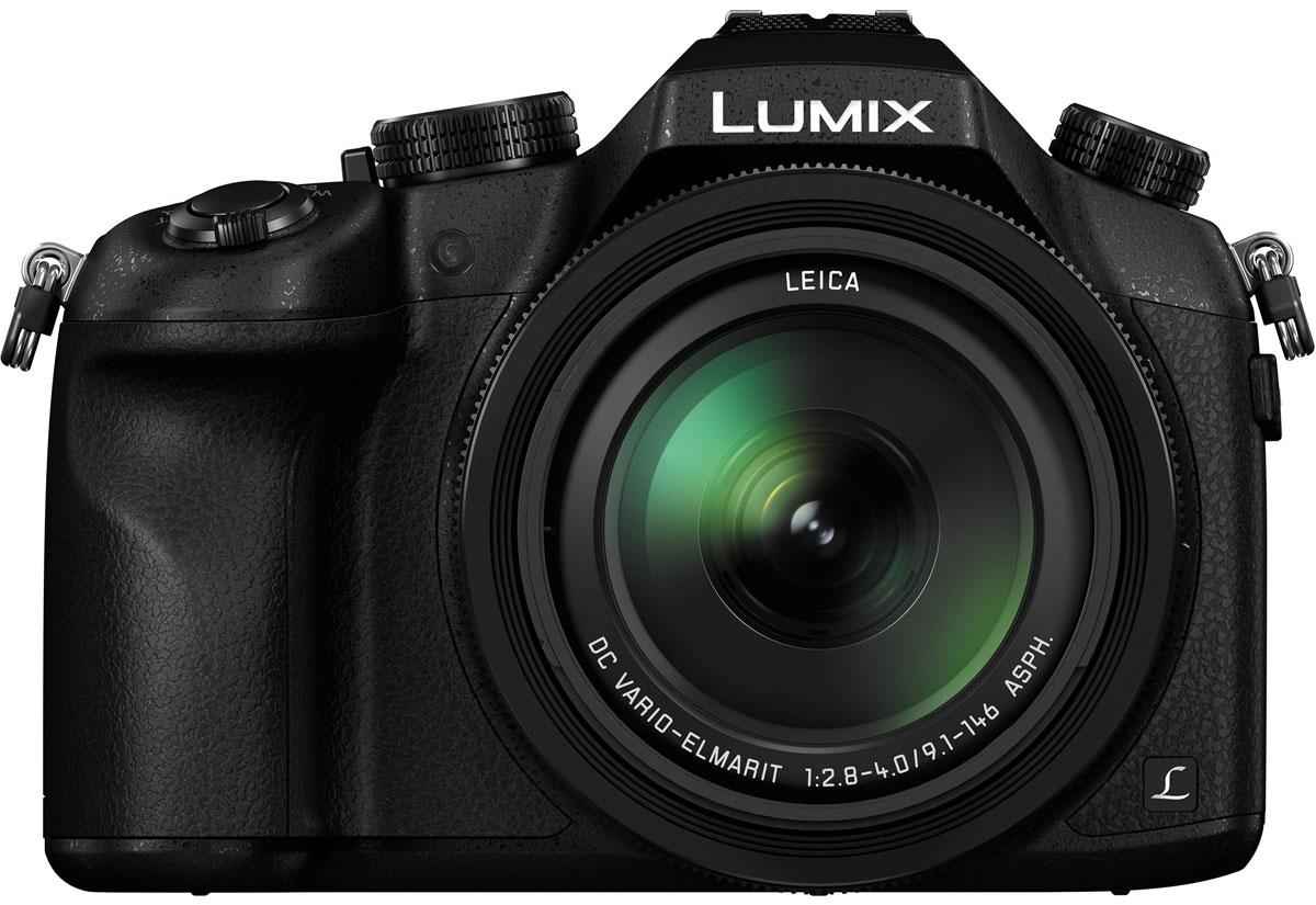 Panasonic Lumix DMC-FZ1000 4K, Black цифровая фотокамера фотоаппарат panasonic lumix dmc gx80 kit