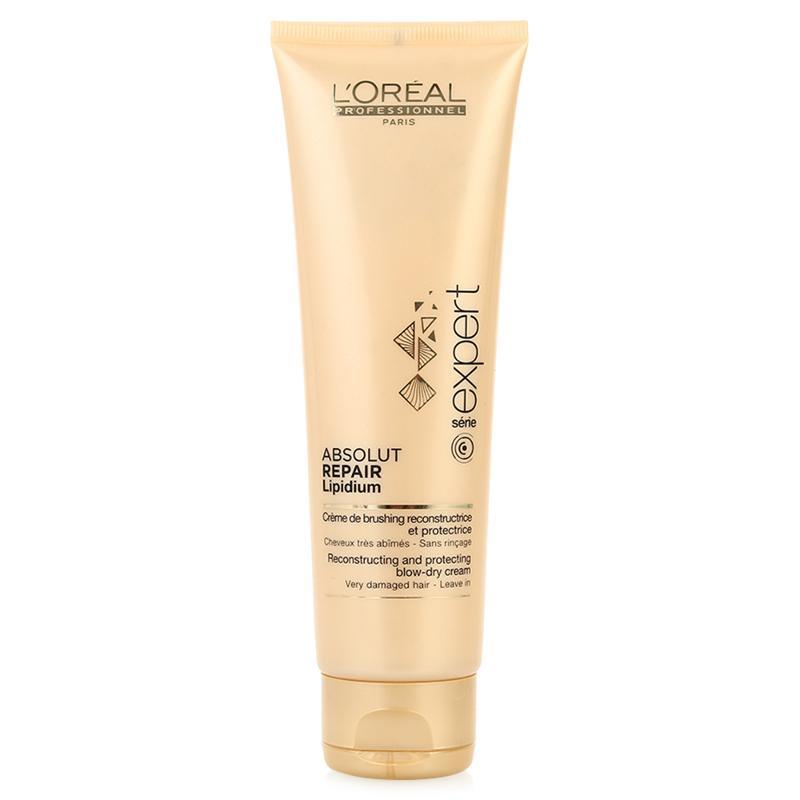 LOreal Professionnel Термо-активный уход Expert Absolut Repair Lipidium - 125 млE0641044Восстанавливающее термо-молочко Absolut Repair Lipidium начинает действовать под влиянием высоких температур, защищая и восстанавливая волокна волос и облегчая горячую укладку. В его основе лежит система Amidocell - при действии высокой температуры внутрь волоса проникает молекула Incell, восстанавливая его структуру. Благодаря производной крахмала маска эластичной пленкой покрывает волосы, защищая от внешнего воздействия и сохраняя активные компоненты внутри них.