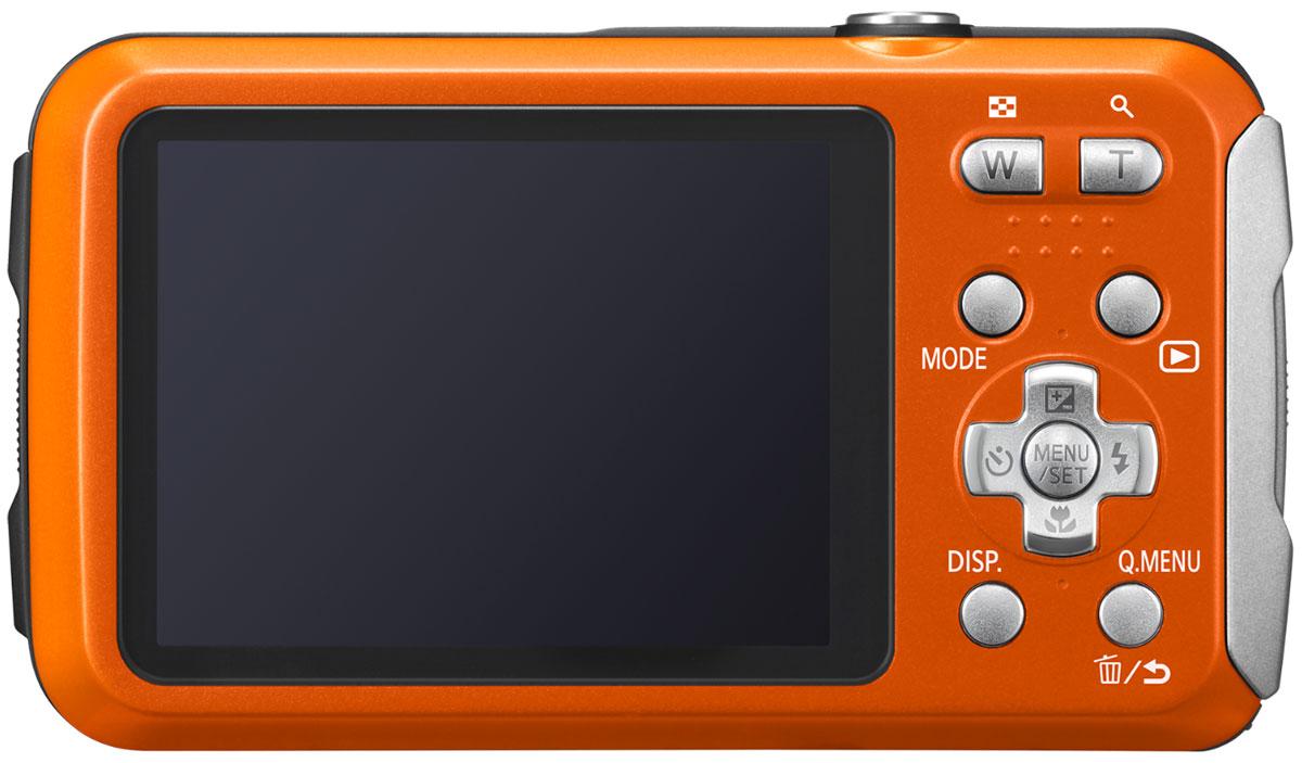 Panasonic Lumix DMC-FT30, Orangeцифровая фотокамера