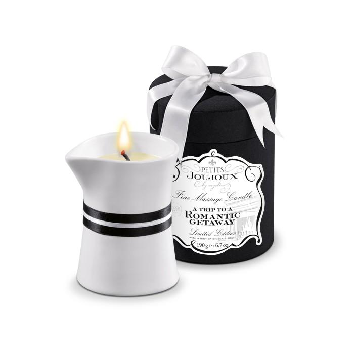 Joujoux Romantic Getaway Массажная свеча имбирь 190 гр массаж свеча 94