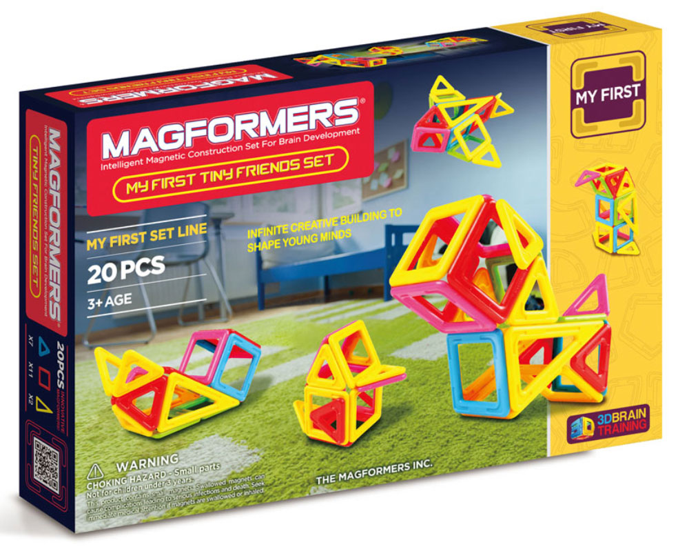 Magformers Магнитный конструктор My First Tiny Friends Set magformers tiny friends
