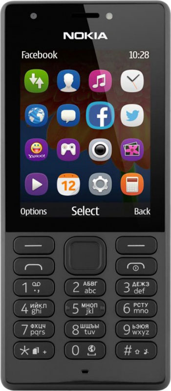 Nokia 216 DS, Black