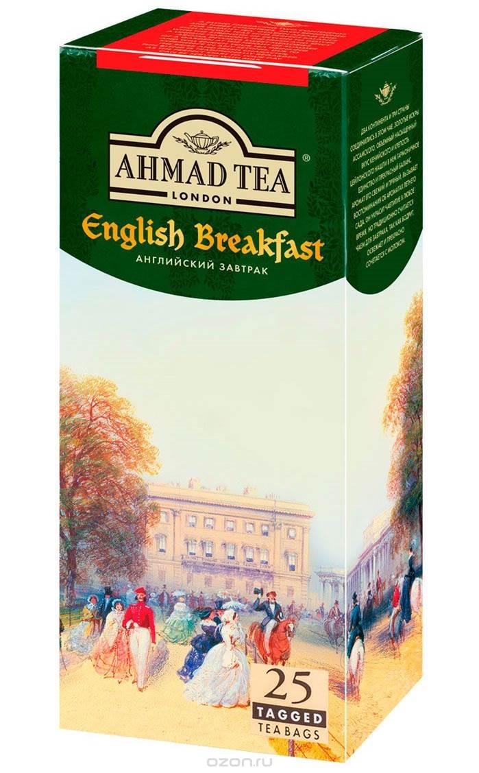 Ahmad Tea English Breakfast черный чай в фольгированных пакетиках, 25 шт ahmad tea forest berries травяной чай в фольгированных пакетиках 20 шт