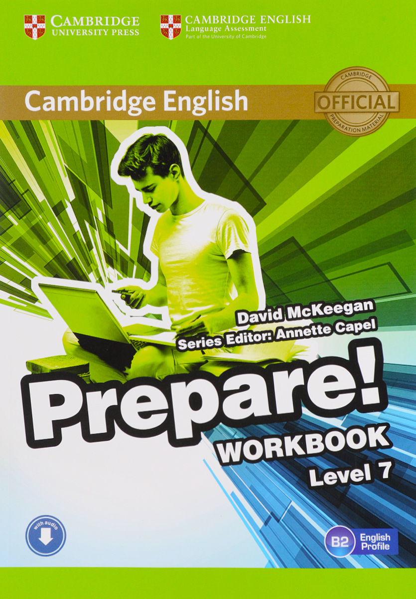 Cambridge English Prepare! Level 7 B 2: Workbook cambridge english empower elementary student s book
