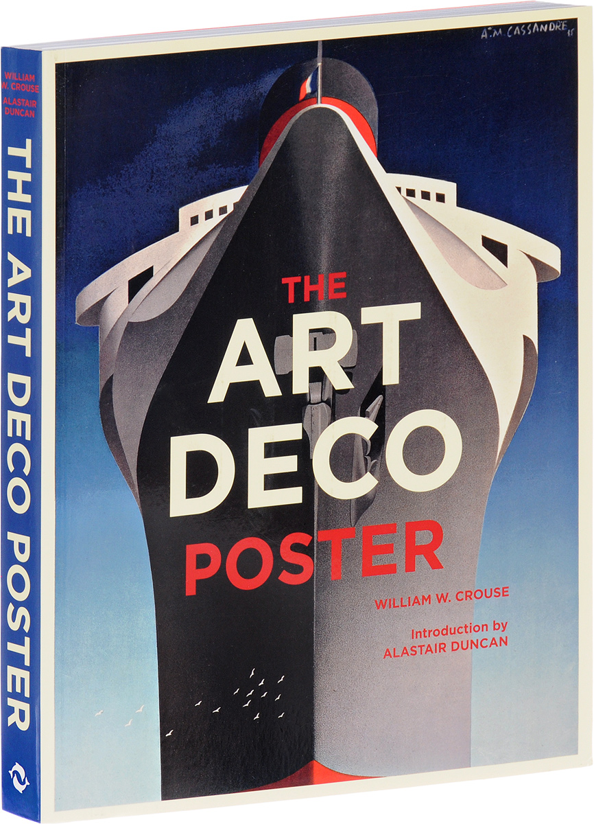 The Art Deco Poster sound image and organic form