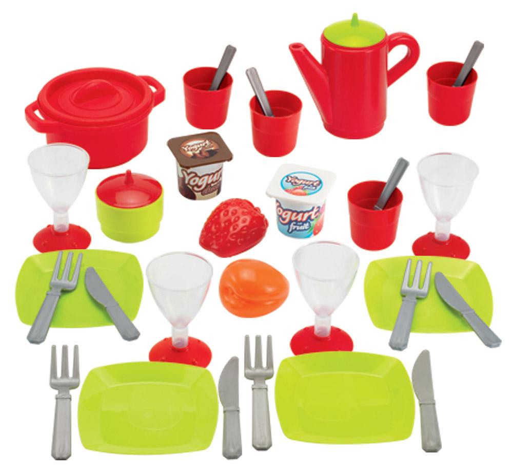 Ecoiffier Набор игрушечной посуды 36 предметов набор игровой ecoiffier сушилка для посуды посуда 39 предметов