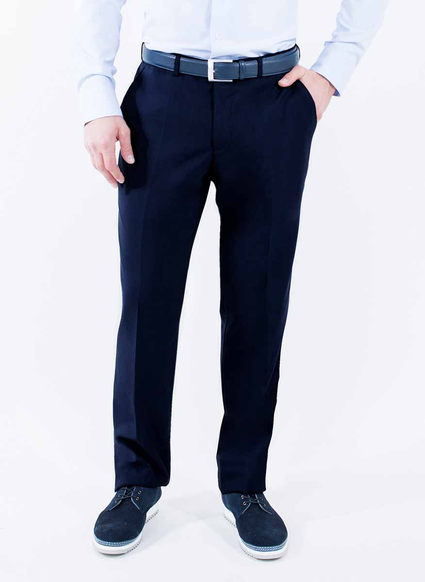 Брюки мужские Greg Horman, цвет: темно-синий. 2-171-20-4101. Размер 34-34 (50-34) поло мужское greg horman цвет голубой 2 171 20 2122 размер l 50