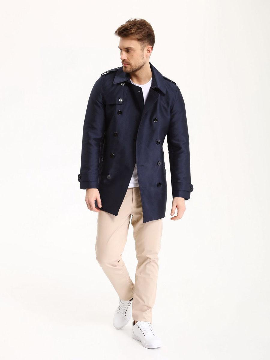 Брюки мужские Top Secret, цвет: бежевый. SSP2469BE34[E]. Размер 34 (50)SSP2469BEСтильные мужские брюки Top Secret - брюки высочайшего качества на каждый день, которые прекрасно сидят. Модель изготовлена из высококачественного хлопка и эластана. Застегиваются брюки на пуговицу в поясе и ширинку на молнии, имеются шлевки для ремня. Эти модные и в тоже время комфортные брюки послужат отличным дополнением к вашему гардеробу. В них вы всегда будете чувствовать себя уютно и комфортно.