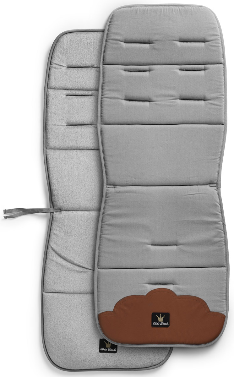 Elodie Details Матрасик в коляску Grey - Коляски и аксессуары