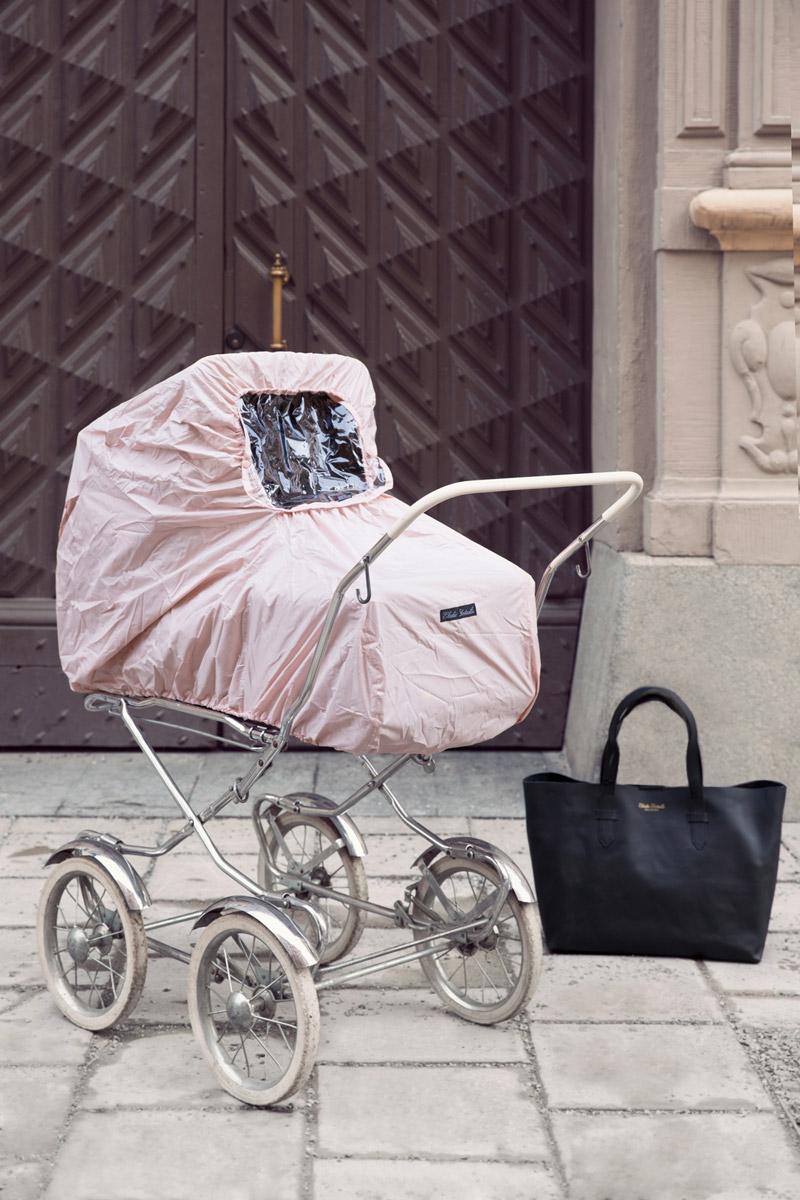Elodie Details Дождевик для коляски Powder Pink москитная сетка для коляски elodie details zebra sunshine