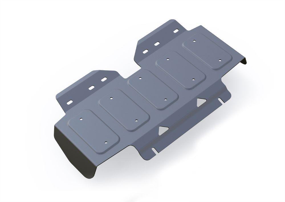 Защита радиатора Rival, для Nissan Patrol, алюминий 4 мм3.4121.1Защита радиатора для Nissan Patrol , V - 5,6 2010- , без крепежа (штатный), алюминий 4 мм, Rival Алюминиевые защиты картера Rival надежно защищают днище вашего автомобиля от повреждений, например при наезде на бордюры, а также выполняют эстетическую функцию при установке на высокие автомобили. - Толщина алюминиевых защит в 2 раза толще стальных, а вес при этом меньше до 30%. - Отлично отводит тепло от двигателя своей поверхностью, что спасает двигатель от перегрева в летний период или при высоких нагрузках. - В отличие от стальных, алюминиевые защиты не поддаются коррозии, что гарантирует срок службы защит более 5 лет. - Покрываются порошковой краской, что надолго сохраняет первоначальный вид новой защиты и защищает от гальванической коррозии. - Глубокий штамп дополнительно усиливает конструкцию защиты. - Подштамповка в местах крепления защищает крепеж от срезания. - Технологические отверстия там, где они необходимы для смены масла и слива воды, оборудованные заглушками, надежно закрепленными на защите. Уважаемые клиенты! Обращаем ваше внимание, на тот факт, что защита имеет форму, соответствующую модели данного автомобиля. Фото служит для визуального восприятия товара.