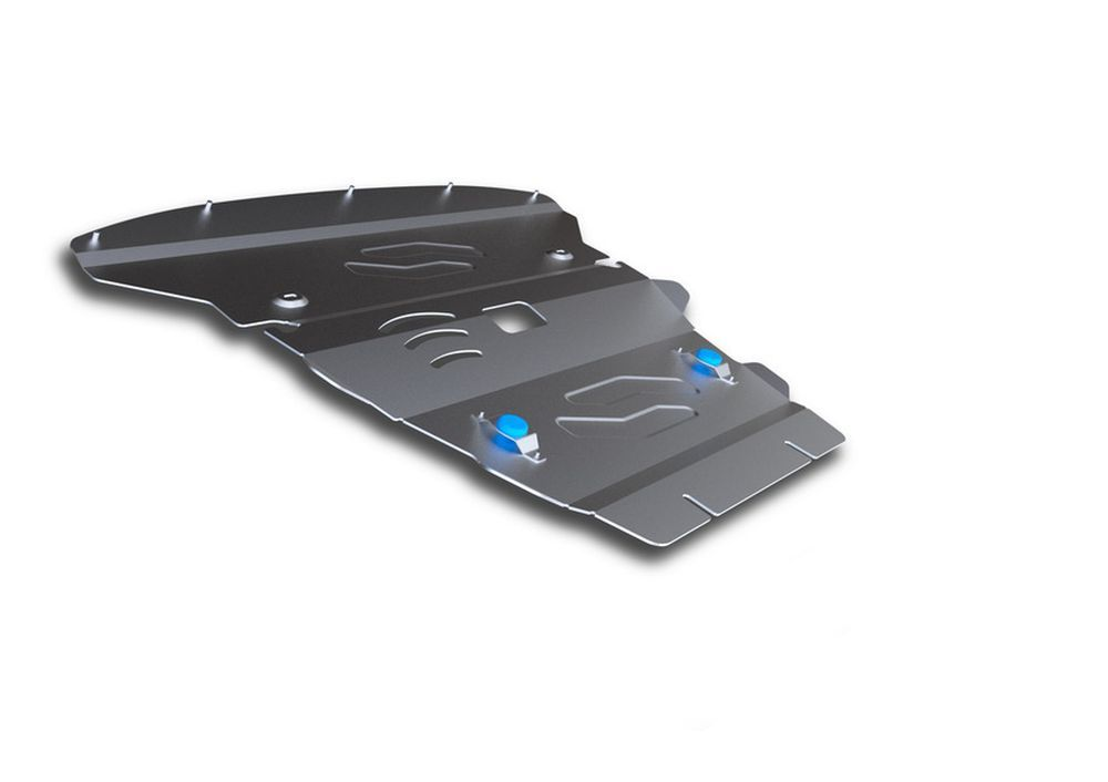 Защита картера Rival, для BMW X1, алюминий 4 мм. 333.0515.1333.0515.1Защита картера для BMW X1 4WD , 20i; 20d; 25d 2009-2015, крепеж в комплекте, алюминий 4 мм, Rival Алюминиевые защиты картера Rival надежно защищают днище вашего автомобиля от повреждений, например при наезде на бордюры, а также выполняют эстетическую функцию при установке на высокие автомобили. - Толщина алюминиевых защит в 2 раза толще стальных, а вес при этом меньше до 30%. - Отлично отводит тепло от двигателя своей поверхностью, что спасает двигатель от перегрева в летний период или при высоких нагрузках. - В отличие от стальных, алюминиевые защиты не поддаются коррозии, что гарантирует срок службы защит более 5 лет. - Покрываются порошковой краской, что надолго сохраняет первоначальный вид новой защиты и защищает от гальванической коррозии. - Глубокий штамп дополнительно усиливает конструкцию защиты. - Подштамповка в местах крепления защищает крепеж от срезания. - Технологические отверстия там, где они необходимы для смены масла и слива воды, оборудованные заглушками, надежно закрепленными на защите. Уважаемые клиенты! Обращаем ваше внимание, на тот факт, что защита имеет форму, соответствующую модели данного автомобиля. Фото служит для визуального восприятия товара.