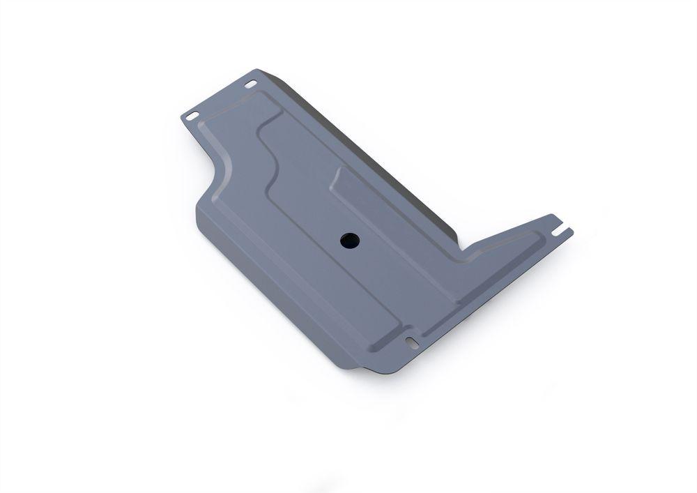 Защита РК Rival, для Chevrolet Niva, алюминий 4 мм333.1011.3Защита РК для Chevrolet Niva , V- 1,7 2002-, крепеж в комплекте, алюминий 4 мм, Rival Алюминиевые защиты картера Rival надежно защищают днище вашего автомобиля от повреждений, например при наезде на бордюры, а также выполняют эстетическую функцию при установке на высокие автомобили. - Толщина алюминиевых защит в 2 раза толще стальных, а вес при этом меньше до 30%. - Отлично отводит тепло от двигателя своей поверхностью, что спасает двигатель от перегрева в летний период или при высоких нагрузках. - В отличие от стальных, алюминиевые защиты не поддаются коррозии, что гарантирует срок службы защит более 5 лет. - Покрываются порошковой краской, что надолго сохраняет первоначальный вид новой защиты и защищает от гальванической коррозии. - Глубокий штамп дополнительно усиливает конструкцию защиты. - Подштамповка в местах крепления защищает крепеж от срезания. - Технологические отверстия там, где они необходимы для смены масла и слива воды, оборудованные заглушками, надежно закрепленными на защите. Уважаемые клиенты! Обращаем ваше внимание, на тот факт, что защита имеет форму, соответствующую модели данного автомобиля. Фото служит для визуального восприятия товара.