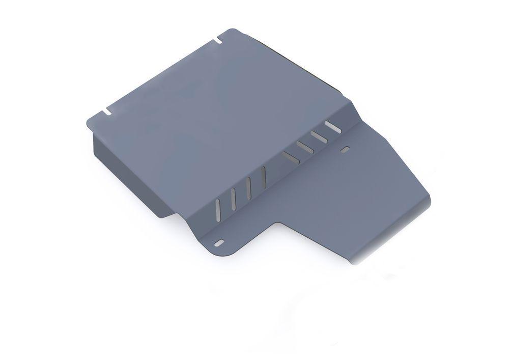 Защита РК Rival, для Ford Explorer, алюминий 4 мм333.1820.1Защита РК для Ford Explorer , V - 4,0; 4,6 2006-2011, крепеж в комплекте, алюминий 4 мм, Rival Алюминиевые защиты картера Rival надежно защищают днище вашего автомобиля от повреждений, например при наезде на бордюры, а также выполняют эстетическую функцию при установке на высокие автомобили. - Толщина алюминиевых защит в 2 раза толще стальных, а вес при этом меньше до 30%. - Отлично отводит тепло от двигателя своей поверхностью, что спасает двигатель от перегрева в летний период или при высоких нагрузках. - В отличие от стальных, алюминиевые защиты не поддаются коррозии, что гарантирует срок службы защит более 5 лет. - Покрываются порошковой краской, что надолго сохраняет первоначальный вид новой защиты и защищает от гальванической коррозии. - Глубокий штамп дополнительно усиливает конструкцию защиты. - Подштамповка в местах крепления защищает крепеж от срезания. - Технологические отверстия там, где они необходимы для смены масла и слива воды, оборудованные заглушками, надежно закрепленными на защите. Уважаемые клиенты! Обращаем ваше внимание, на тот факт, что защита имеет форму, соответствующую модели данного автомобиля. Фото служит для визуального восприятия товара.
