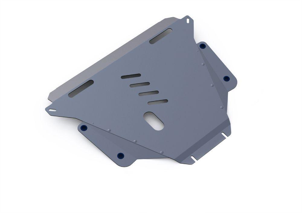 Защита картера и КПП Rival, для Honda CR-V III, алюминий 4 мм333.2104.2Защита картера и КПП для Honda CR-V III , V - 2,0; 2,4 2007-2012, крепеж в комплекте, алюминий 4 мм, Rival Алюминиевые защиты картера Rival надежно защищают днище вашего автомобиля от повреждений, например при наезде на бордюры, а также выполняют эстетическую функцию при установке на высокие автомобили. - Толщина алюминиевых защит в 2 раза толще стальных, а вес при этом меньше до 30%. - Отлично отводит тепло от двигателя своей поверхностью, что спасает двигатель от перегрева в летний период или при высоких нагрузках. - В отличие от стальных, алюминиевые защиты не поддаются коррозии, что гарантирует срок службы защит более 5 лет. - Покрываются порошковой краской, что надолго сохраняет первоначальный вид новой защиты и защищает от гальванической коррозии. - Глубокий штамп дополнительно усиливает конструкцию защиты. - Подштамповка в местах крепления защищает крепеж от срезания. - Технологические отверстия там, где они необходимы для смены масла и слива воды, оборудованные заглушками, надежно закрепленными на защите. Уважаемые клиенты! Обращаем ваше внимание, на тот факт, что защита имеет форму, соответствующую модели данного автомобиля. Фото служит для визуального восприятия товара.