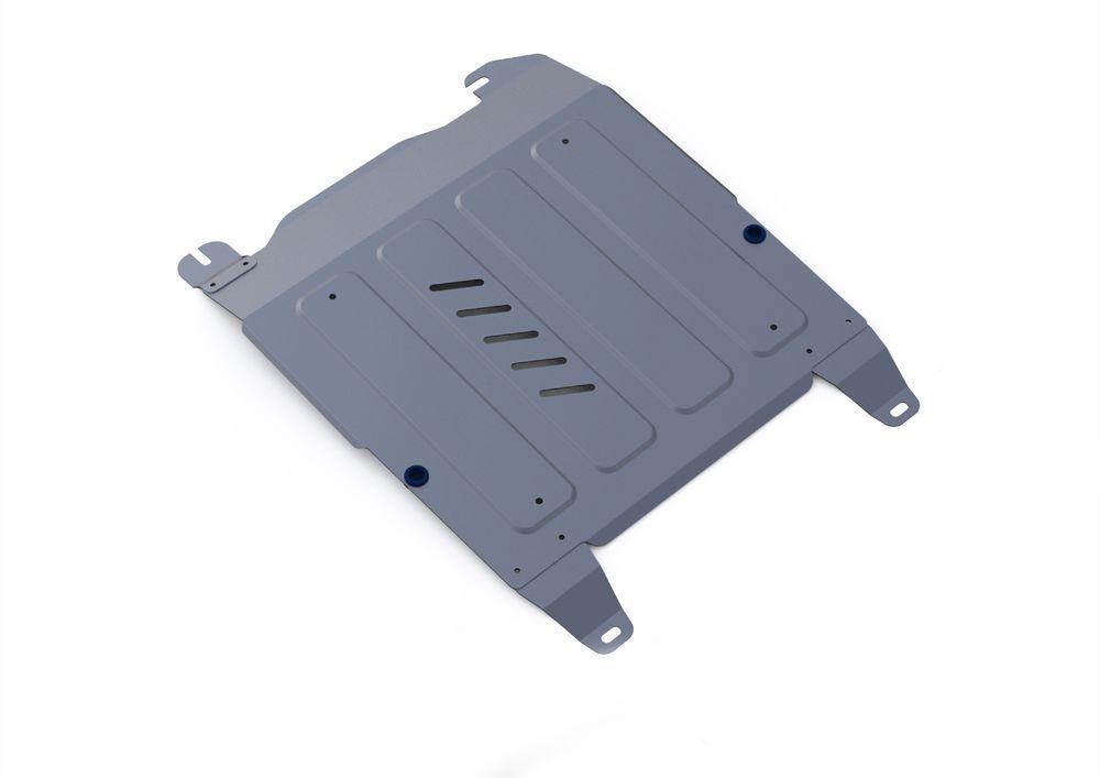 Защита картера и КПП Rival, для Hyundai Sonata V, алюминий 4 мм333.2310.1Защита картера и КПП для Hyundai Sonata V(EF) , V - 2,0; 2,7 2001-2013, крепеж в комплекте, алюминий 4 мм, Rival Алюминиевые защиты картера Rival надежно защищают днище вашего автомобиля от повреждений, например при наезде на бордюры, а также выполняют эстетическую функцию при установке на высокие автомобили. - Толщина алюминиевых защит в 2 раза толще стальных, а вес при этом меньше до 30%. - Отлично отводит тепло от двигателя своей поверхностью, что спасает двигатель от перегрева в летний период или при высоких нагрузках. - В отличие от стальных, алюминиевые защиты не поддаются коррозии, что гарантирует срок службы защит более 5 лет. - Покрываются порошковой краской, что надолго сохраняет первоначальный вид новой защиты и защищает от гальванической коррозии. - Глубокий штамп дополнительно усиливает конструкцию защиты. - Подштамповка в местах крепления защищает крепеж от срезания. - Технологические отверстия там, где они необходимы для смены масла и слива воды, оборудованные заглушками, надежно закрепленными на защите. Уважаемые клиенты! Обращаем ваше внимание, на тот факт, что защита имеет форму, соответствующую модели данного автомобиля. Фото служит для визуального восприятия товара.