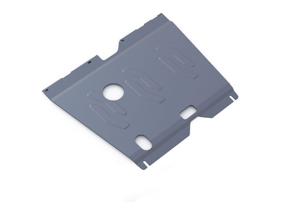 Защита картера и КПП Rival, для Hyundai Sonata, алюминий 4 мм. 333.2320.2333.2320.2Защита картера и КПП для Hyundai Sonata , V - 2,0 2010-2013, крепеж в комплекте, алюминий 4 мм, Rival Алюминиевые защиты картера Rival надежно защищают днище вашего автомобиля от повреждений, например при наезде на бордюры, а также выполняют эстетическую функцию при установке на высокие автомобили. - Толщина алюминиевых защит в 2 раза толще стальных, а вес при этом меньше до 30%. - Отлично отводит тепло от двигателя своей поверхностью, что спасает двигатель от перегрева в летний период или при высоких нагрузках. - В отличие от стальных, алюминиевые защиты не поддаются коррозии, что гарантирует срок службы защит более 5 лет. - Покрываются порошковой краской, что надолго сохраняет первоначальный вид новой защиты и защищает от гальванической коррозии. - Глубокий штамп дополнительно усиливает конструкцию защиты. - Подштамповка в местах крепления защищает крепеж от срезания. - Технологические отверстия там, где они необходимы для смены масла и слива воды, оборудованные заглушками, надежно закрепленными на защите. Уважаемые клиенты! Обращаем ваше внимание, на тот факт, что защита имеет форму, соответствующую модели данного автомобиля. Фото служит для визуального восприятия товара.