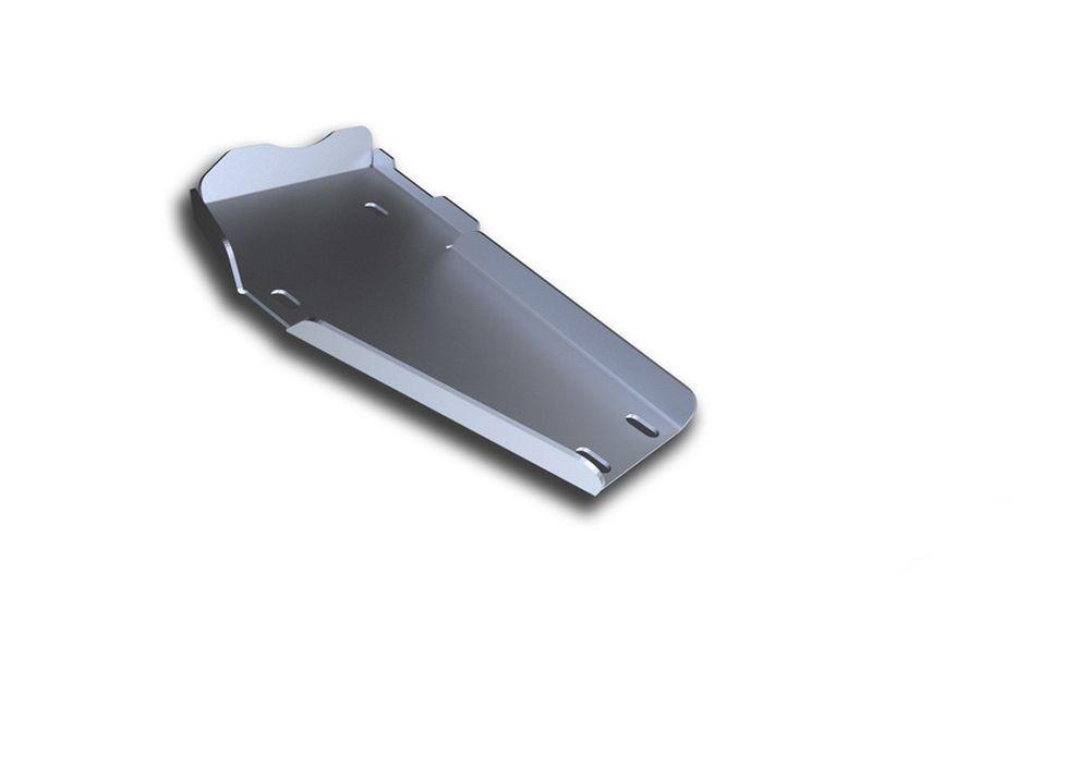 Защита редуктора Rival, для Hyundai Santa Fe Premium, алюминий 4 мм333.2337.1Защита редуктора для Hyundai Santa Fe Premium , V - 2,2D, 2,4i 2015-, крепеж в комплекте, алюминий 4 мм, Rival Алюминиевые защиты картера Rival надежно защищают днище вашего автомобиля от повреждений, например при наезде на бордюры, а также выполняют эстетическую функцию при установке на высокие автомобили. - Толщина алюминиевых защит в 2 раза толще стальных, а вес при этом меньше до 30%. - Отлично отводит тепло от двигателя своей поверхностью, что спасает двигатель от перегрева в летний период или при высоких нагрузках. - В отличие от стальных, алюминиевые защиты не поддаются коррозии, что гарантирует срок службы защит более 5 лет. - Покрываются порошковой краской, что надолго сохраняет первоначальный вид новой защиты и защищает от гальванической коррозии. - Глубокий штамп дополнительно усиливает конструкцию защиты. - Подштамповка в местах крепления защищает крепеж от срезания. - Технологические отверстия там, где они необходимы для смены масла и слива воды, оборудованные заглушками, надежно закрепленными на защите. Уважаемые клиенты! Обращаем ваше внимание, на тот факт, что защита имеет форму, соответствующую модели данного автомобиля. Фото служит для визуального восприятия товара.