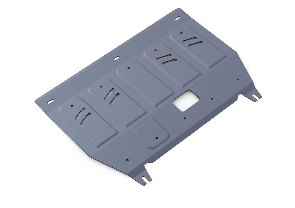 Защита картера и КПП Rival, для Hyundai Avante, алюминий 3 мм333.2351.1Защита картера и КПП для Hyundai Avante , V - 1,6 2011-2014, крепеж в комплекте, алюминий 3 мм, Rival Алюминиевые защиты картера Rival надежно защищают днище вашего автомобиля от повреждений, например при наезде на бордюры, а также выполняют эстетическую функцию при установке на высокие автомобили. - Толщина алюминиевых защит в 2 раза толще стальных, а вес при этом меньше до 30%. - Отлично отводит тепло от двигателя своей поверхностью, что спасает двигатель от перегрева в летний период или при высоких нагрузках. - В отличие от стальных, алюминиевые защиты не поддаются коррозии, что гарантирует срок службы защит более 5 лет. - Покрываются порошковой краской, что надолго сохраняет первоначальный вид новой защиты и защищает от гальванической коррозии. - Глубокий штамп дополнительно усиливает конструкцию защиты. - Подштамповка в местах крепления защищает крепеж от срезания. - Технологические отверстия там, где они необходимы для смены масла и слива воды, оборудованные заглушками, надежно закрепленными на защите. Уважаемые клиенты! Обращаем ваше внимание, на тот факт, что защита имеет форму, соответствующую модели данного автомобиля. Фото служит для визуального восприятия товара.
