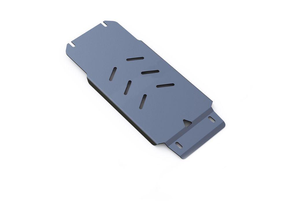 Защита КПП Rival, для Infiniti Q70, Infiniti G 25, алюминий 4 мм333.2407.1Защита КПП для Infiniti Q70, V - 2,5 2014-; Infiniti G 25 , V - 2,5 2010-2013; Infiniti M25 , V - 2,5 2010-2014, крепеж в комплекте, алюминий 4 мм, Rival Алюминиевые защиты картера Rival надежно защищают днище вашего автомобиля от повреждений, например при наезде на бордюры, а также выполняют эстетическую функцию при установке на высокие автомобили. - Толщина алюминиевых защит в 2 раза толще стальных, а вес при этом меньше до 30%. - Отлично отводит тепло от двигателя своей поверхностью, что спасает двигатель от перегрева в летний период или при высоких нагрузках. - В отличие от стальных, алюминиевые защиты не поддаются коррозии, что гарантирует срок службы защит более 5 лет. - Покрываются порошковой краской, что надолго сохраняет первоначальный вид новой защиты и защищает от гальванической коррозии. - Глубокий штамп дополнительно усиливает конструкцию защиты. - Подштамповка в местах крепления защищает крепеж от срезания. - Технологические отверстия там, где они необходимы для смены масла и слива воды, оборудованные заглушками, надежно закрепленными на защите. Уважаемые клиенты! Обращаем ваше внимание, на тот факт, что защита имеет форму, соответствующую модели данного автомобиля. Фото служит для визуального восприятия товара.