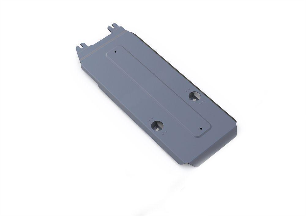 Защита КПП Rival, для Infiniti M37, алюминий 4 мм333.2413.1Защита КПП для Infiniti M37 , V - 3,7 2010-2014, крепеж в комплекте, алюминий 4 мм, Rival Алюминиевые защиты картера Rival надежно защищают днище вашего автомобиля от повреждений, например при наезде на бордюры, а также выполняют эстетическую функцию при установке на высокие автомобили. - Толщина алюминиевых защит в 2 раза толще стальных, а вес при этом меньше до 30%. - Отлично отводит тепло от двигателя своей поверхностью, что спасает двигатель от перегрева в летний период или при высоких нагрузках. - В отличие от стальных, алюминиевые защиты не поддаются коррозии, что гарантирует срок службы защит более 5 лет. - Покрываются порошковой краской, что надолго сохраняет первоначальный вид новой защиты и защищает от гальванической коррозии. - Глубокий штамп дополнительно усиливает конструкцию защиты. - Подштамповка в местах крепления защищает крепеж от срезания. - Технологические отверстия там, где они необходимы для смены масла и слива воды, оборудованные заглушками, надежно закрепленными на защите. Уважаемые клиенты! Обращаем ваше внимание, на тот факт, что защита имеет форму, соответствующую модели данного автомобиля. Фото служит для визуального восприятия товара.