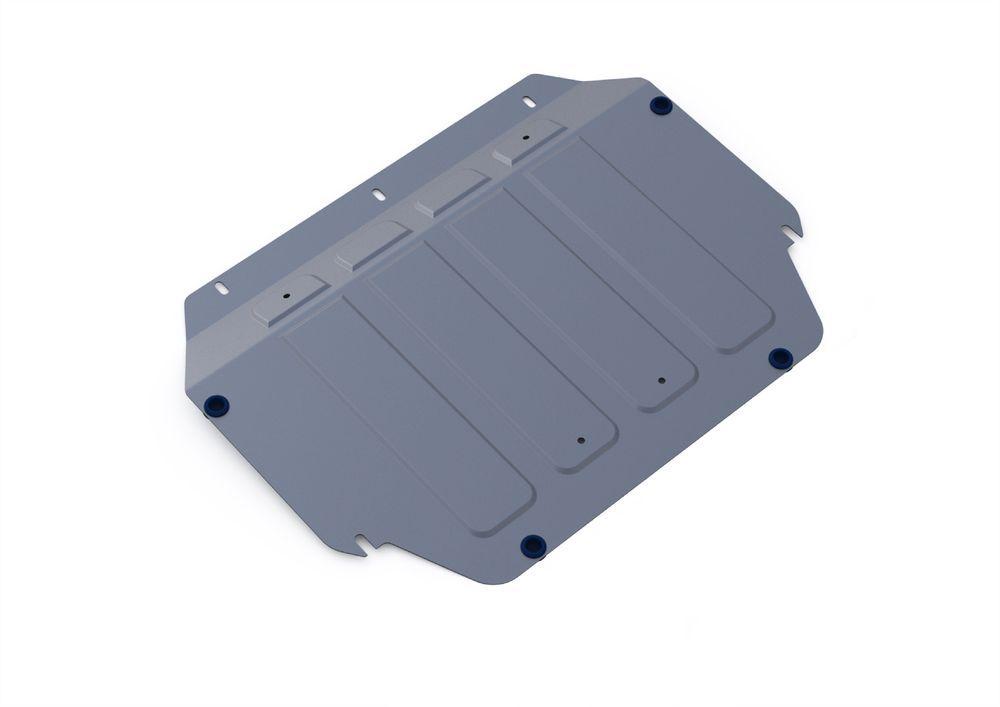 Защита картера и КПП Rival, для Kia Rio III, алюминий 4 мм333.2805.1Защита картера и КПП для Kia Rio III , V - 1,4 2005-2011, крепеж в комплекте, алюминий 4 мм, Rival Алюминиевые защиты картера Rival надежно защищают днище вашего автомобиля от повреждений, например при наезде на бордюры, а также выполняют эстетическую функцию при установке на высокие автомобили. - Толщина алюминиевых защит в 2 раза толще стальных, а вес при этом меньше до 30%. - Отлично отводит тепло от двигателя своей поверхностью, что спасает двигатель от перегрева в летний период или при высоких нагрузках. - В отличие от стальных, алюминиевые защиты не поддаются коррозии, что гарантирует срок службы защит более 5 лет. - Покрываются порошковой краской, что надолго сохраняет первоначальный вид новой защиты и защищает от гальванической коррозии. - Глубокий штамп дополнительно усиливает конструкцию защиты. - Подштамповка в местах крепления защищает крепеж от срезания. - Технологические отверстия там, где они необходимы для смены масла и слива воды, оборудованные заглушками, надежно закрепленными на защите. Уважаемые клиенты! Обращаем ваше внимание, на тот факт, что защита имеет форму, соответствующую модели данного автомобиля. Фото служит для визуального восприятия товара.