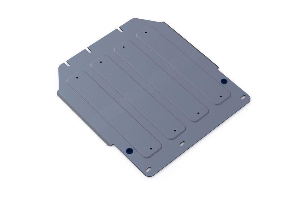 Защита КПП Rival, для Kia Mohave, алюминий 4 мм333.2815.1Защита КПП для Kia Mohave , V - 3,0; 3,8 2008-, крепеж в комплекте, алюминий 4 мм, Rival Алюминиевые защиты картера Rival надежно защищают днище вашего автомобиля от повреждений, например при наезде на бордюры, а также выполняют эстетическую функцию при установке на высокие автомобили. - Толщина алюминиевых защит в 2 раза толще стальных, а вес при этом меньше до 30%. - Отлично отводит тепло от двигателя своей поверхностью, что спасает двигатель от перегрева в летний период или при высоких нагрузках. - В отличие от стальных, алюминиевые защиты не поддаются коррозии, что гарантирует срок службы защит более 5 лет. - Покрываются порошковой краской, что надолго сохраняет первоначальный вид новой защиты и защищает от гальванической коррозии. - Глубокий штамп дополнительно усиливает конструкцию защиты. - Подштамповка в местах крепления защищает крепеж от срезания. - Технологические отверстия там, где они необходимы для смены масла и слива воды, оборудованные заглушками, надежно закрепленными на защите. Уважаемые клиенты! Обращаем ваше внимание, на тот факт, что защита имеет форму, соответствующую модели данного автомобиля. Фото служит для визуального восприятия товара.