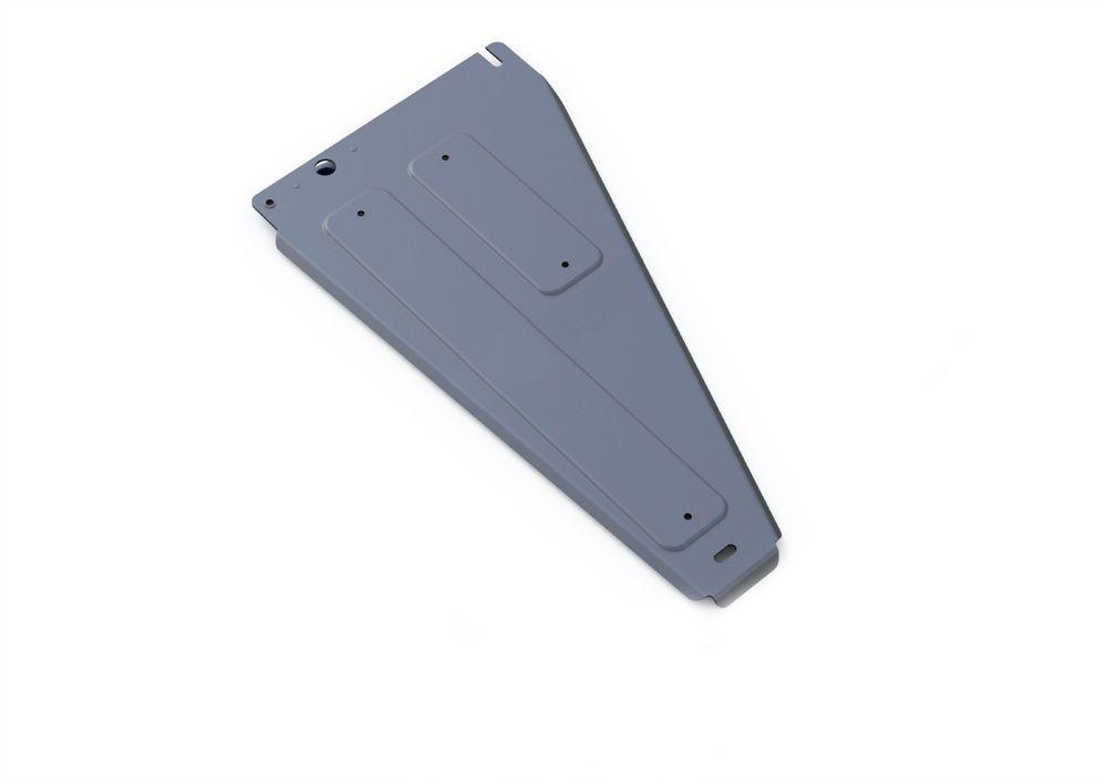 Защита РК Rival, для Kia Mohave, алюминий 4 мм333.2816.1Защита РК для Kia Mohave , V - 3,0; 3,8 2008-, крепеж в комплекте, алюминий 4 мм, Rival Алюминиевые защиты картера Rival надежно защищают днище вашего автомобиля от повреждений, например при наезде на бордюры, а также выполняют эстетическую функцию при установке на высокие автомобили. - Толщина алюминиевых защит в 2 раза толще стальных, а вес при этом меньше до 30%. - Отлично отводит тепло от двигателя своей поверхностью, что спасает двигатель от перегрева в летний период или при высоких нагрузках. - В отличие от стальных, алюминиевые защиты не поддаются коррозии, что гарантирует срок службы защит более 5 лет. - Покрываются порошковой краской, что надолго сохраняет первоначальный вид новой защиты и защищает от гальванической коррозии. - Глубокий штамп дополнительно усиливает конструкцию защиты. - Подштамповка в местах крепления защищает крепеж от срезания. - Технологические отверстия там, где они необходимы для смены масла и слива воды, оборудованные заглушками, надежно закрепленными на защите. Уважаемые клиенты! Обращаем ваше внимание, на тот факт, что защита имеет форму, соответствующую модели данного автомобиля. Фото служит для визуального восприятия товара.