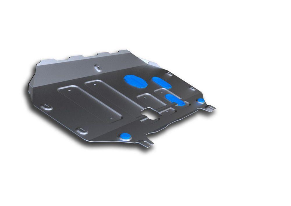 Защита картера и КПП Rival, для Kia Soul, алюминий 4 мм333.2827.1Защита картера и КПП для Kia Soul , V - 1,6 АКПП 2014-, крепеж в комплекте, алюминий 4 мм, Rival Алюминиевые защиты картера Rival надежно защищают днище вашего автомобиля от повреждений, например при наезде на бордюры, а также выполняют эстетическую функцию при установке на высокие автомобили. - Толщина алюминиевых защит в 2 раза толще стальных, а вес при этом меньше до 30%. - Отлично отводит тепло от двигателя своей поверхностью, что спасает двигатель от перегрева в летний период или при высоких нагрузках. - В отличие от стальных, алюминиевые защиты не поддаются коррозии, что гарантирует срок службы защит более 5 лет. - Покрываются порошковой краской, что надолго сохраняет первоначальный вид новой защиты и защищает от гальванической коррозии. - Глубокий штамп дополнительно усиливает конструкцию защиты. - Подштамповка в местах крепления защищает крепеж от срезания. - Технологические отверстия там, где они необходимы для смены масла и слива воды, оборудованные заглушками, надежно закрепленными на защите. Уважаемые клиенты! Обращаем ваше внимание, на тот факт, что защита имеет форму, соответствующую модели данного автомобиля. Фото служит для визуального восприятия товара.