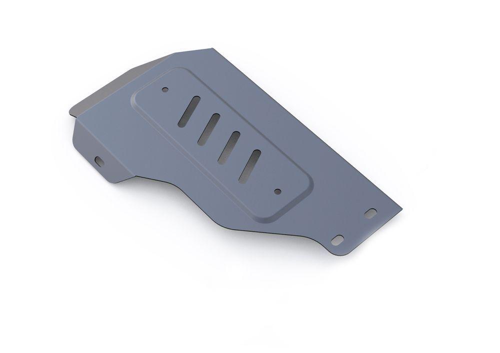 Защита редуктора Rival, для Kia Sorento Prime, алюминий 4 мм333.2832.1Защита редуктора для Kia Sorento Prime 4WD, V- 2,2CRDi; 2,4 2015-, крепеж в комплекте, алюминий 4 мм, Rival Алюминиевые защиты картера Rival надежно защищают днище вашего автомобиля от повреждений, например при наезде на бордюры, а также выполняют эстетическую функцию при установке на высокие автомобили. - Толщина алюминиевых защит в 2 раза толще стальных, а вес при этом меньше до 30%. - Отлично отводит тепло от двигателя своей поверхностью, что спасает двигатель от перегрева в летний период или при высоких нагрузках. - В отличие от стальных, алюминиевые защиты не поддаются коррозии, что гарантирует срок службы защит более 5 лет. - Покрываются порошковой краской, что надолго сохраняет первоначальный вид новой защиты и защищает от гальванической коррозии. - Глубокий штамп дополнительно усиливает конструкцию защиты. - Подштамповка в местах крепления защищает крепеж от срезания. - Технологические отверстия там, где они необходимы для смены масла и слива воды, оборудованные заглушками, надежно закрепленными на защите. Уважаемые клиенты! Обращаем ваше внимание, на тот факт, что защита имеет форму, соответствующую модели данного автомобиля. Фото служит для визуального восприятия товара.
