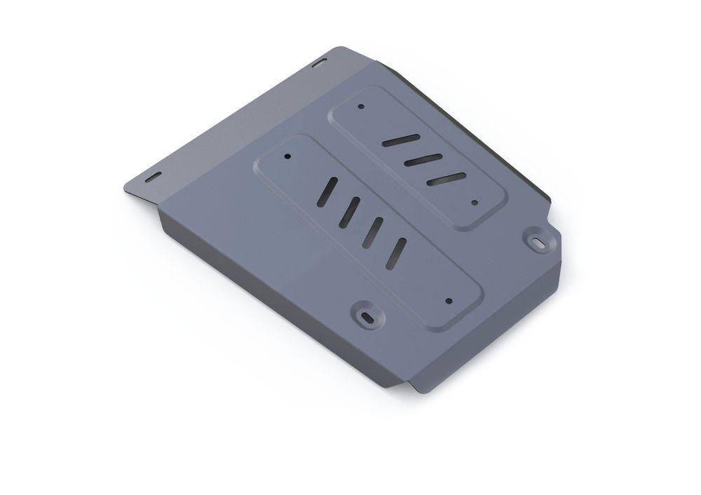 Защита топливного бака Rival, для Land Rover Discovery, алюминий 4 мм333.3126.1Защита топливного бака для Land Rover Discovery Sport, V-2,0(240hp); 2,2d (188hp), 2,2d (150hp) 2014-, крепеж в комплекте, алюминий 4 мм, Rival Алюминиевые защиты картера Rival надежно защищают днище вашего автомобиля от повреждений, например при наезде на бордюры, а также выполняют эстетическую функцию при установке на высокие автомобили. - Толщина алюминиевых защит в 2 раза толще стальных, а вес при этом меньше до 30%. - Отлично отводит тепло от двигателя своей поверхностью, что спасает двигатель от перегрева в летний период или при высоких нагрузках. - В отличие от стальных, алюминиевые защиты не поддаются коррозии, что гарантирует срок службы защит более 5 лет. - Покрываются порошковой краской, что надолго сохраняет первоначальный вид новой защиты и защищает от гальванической коррозии. - Глубокий штамп дополнительно усиливает конструкцию защиты. - Подштамповка в местах крепления защищает крепеж от срезания. - Технологические отверстия там, где они необходимы для смены масла и слива воды, оборудованные заглушками, надежно закрепленными на защите. Уважаемые клиенты! Обращаем ваше внимание, на тот факт, что защита имеет форму, соответствующую модели данного автомобиля. Фото служит для визуального восприятия товара.