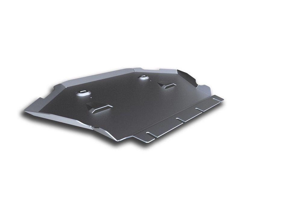 Защита картера Rival, для Mercedes Benz S, алюминий 4 мм333.3912.1Защита картера для Mercedes Benz S, (W222), 4WD, 500 2013-, крепеж в комплекте, алюминий 4 мм, Rival Алюминиевые защиты картера Rival надежно защищают днище вашего автомобиля от повреждений, например при наезде на бордюры, а также выполняют эстетическую функцию при установке на высокие автомобили. - Толщина алюминиевых защит в 2 раза толще стальных, а вес при этом меньше до 30%. - Отлично отводит тепло от двигателя своей поверхностью, что спасает двигатель от перегрева в летний период или при высоких нагрузках. - В отличие от стальных, алюминиевые защиты не поддаются коррозии, что гарантирует срок службы защит более 5 лет. - Покрываются порошковой краской, что надолго сохраняет первоначальный вид новой защиты и защищает от гальванической коррозии. - Глубокий штамп дополнительно усиливает конструкцию защиты. - Подштамповка в местах крепления защищает крепеж от срезания. - Технологические отверстия там, где они необходимы для смены масла и слива воды, оборудованные заглушками, надежно закрепленными на защите. Уважаемые клиенты! Обращаем ваше внимание, на тот факт, что защита имеет форму, соответствующую модели данного автомобиля. Фото служит для визуального восприятия товара.