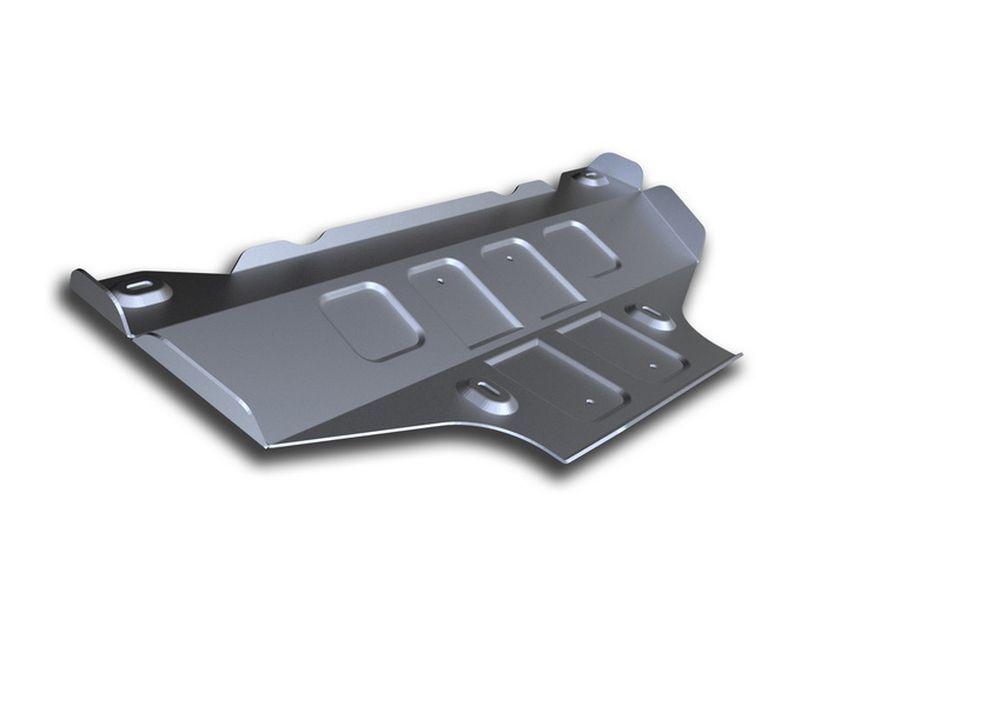 Защита КПП Rival, для Mercedes Benz Sprinter Classic, алюминий 4 мм333.3922.1Защита КПП для Mercedes Benz Sprinter Classic 2WD, V -2 ,1 2013-, крепеж в комплекте, алюминий 4 мм, Rival Алюминиевые защиты картера Rival надежно защищают днище вашего автомобиля от повреждений, например при наезде на бордюры, а также выполняют эстетическую функцию при установке на высокие автомобили. - Толщина алюминиевых защит в 2 раза толще стальных, а вес при этом меньше до 30%. - Отлично отводит тепло от двигателя своей поверхностью, что спасает двигатель от перегрева в летний период или при высоких нагрузках. - В отличие от стальных, алюминиевые защиты не поддаются коррозии, что гарантирует срок службы защит более 5 лет. - Покрываются порошковой краской, что надолго сохраняет первоначальный вид новой защиты и защищает от гальванической коррозии. - Глубокий штамп дополнительно усиливает конструкцию защиты. - Подштамповка в местах крепления защищает крепеж от срезания. - Технологические отверстия там, где они необходимы для смены масла и слива воды, оборудованные заглушками, надежно закрепленными на защите. Уважаемые клиенты! Обращаем ваше внимание, на тот факт, что защита имеет форму, соответствующую модели данного автомобиля. Фото служит для визуального восприятия товара.