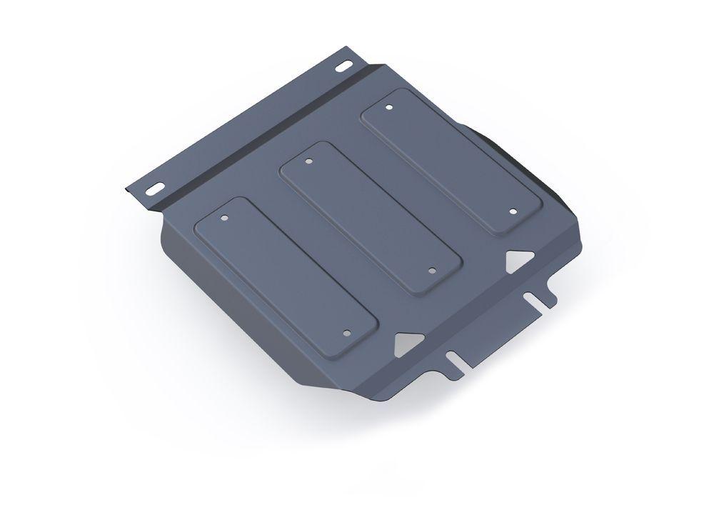 Защита картера Rival, для Infiniti QX80, Infiniti QX56, Nissan Patrol, алюминий 4 мм333.4122.1Защита картера для Infiniti QX80, V - 5,6 2013-; Infiniti QX56 , V - 5,6 2010-2013; Nissan Patrol , V - 5,6 2010-, крепеж в комплекте, алюминий 4 мм, Rival Алюминиевые защиты картера Rival надежно защищают днище вашего автомобиля от повреждений, например при наезде на бордюры, а также выполняют эстетическую функцию при установке на высокие автомобили. - Толщина алюминиевых защит в 2 раза толще стальных, а вес при этом меньше до 30%. - Отлично отводит тепло от двигателя своей поверхностью, что спасает двигатель от перегрева в летний период или при высоких нагрузках. - В отличие от стальных, алюминиевые защиты не поддаются коррозии, что гарантирует срок службы защит более 5 лет. - Покрываются порошковой краской, что надолго сохраняет первоначальный вид новой защиты и защищает от гальванической коррозии. - Глубокий штамп дополнительно усиливает конструкцию защиты. - Подштамповка в местах крепления защищает крепеж от срезания. - Технологические отверстия там, где они необходимы для смены масла и слива воды, оборудованные заглушками, надежно закрепленными на защите. Уважаемые клиенты! Обращаем ваше внимание, на тот факт, что защита имеет форму, соответствующую модели данного автомобиля. Фото служит для визуального восприятия товара.