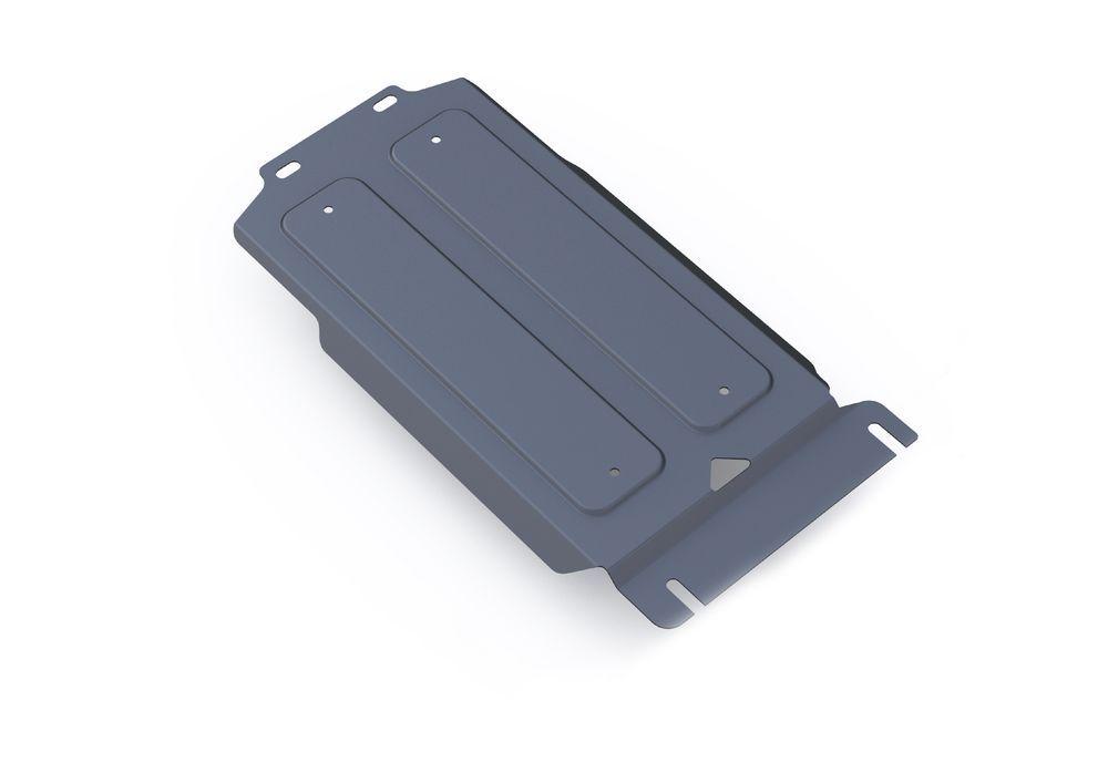 Защита КПП Rival, для Infiniti QX80, Infiniti QX56, Nissan Patrol, алюминий 4 мм333.4123.1Защита КПП для Infiniti QX80, V - 5,6 2013-; Infiniti QX56 , V - 5,6 2010-2013; Nissan Patrol , V - 5,6 2010-, крепеж в комплекте, алюминий 4 мм, Rival Алюминиевые защиты картера Rival надежно защищают днище вашего автомобиля от повреждений, например при наезде на бордюры, а также выполняют эстетическую функцию при установке на высокие автомобили. - Толщина алюминиевых защит в 2 раза толще стальных, а вес при этом меньше до 30%. - Отлично отводит тепло от двигателя своей поверхностью, что спасает двигатель от перегрева в летний период или при высоких нагрузках. - В отличие от стальных, алюминиевые защиты не поддаются коррозии, что гарантирует срок службы защит более 5 лет. - Покрываются порошковой краской, что надолго сохраняет первоначальный вид новой защиты и защищает от гальванической коррозии. - Глубокий штамп дополнительно усиливает конструкцию защиты. - Подштамповка в местах крепления защищает крепеж от срезания. - Технологические отверстия там, где они необходимы для смены масла и слива воды, оборудованные заглушками, надежно закрепленными на защите. Уважаемые клиенты! Обращаем ваше внимание, на тот факт, что защита имеет форму, соответствующую модели данного автомобиля. Фото служит для визуального восприятия товара.
