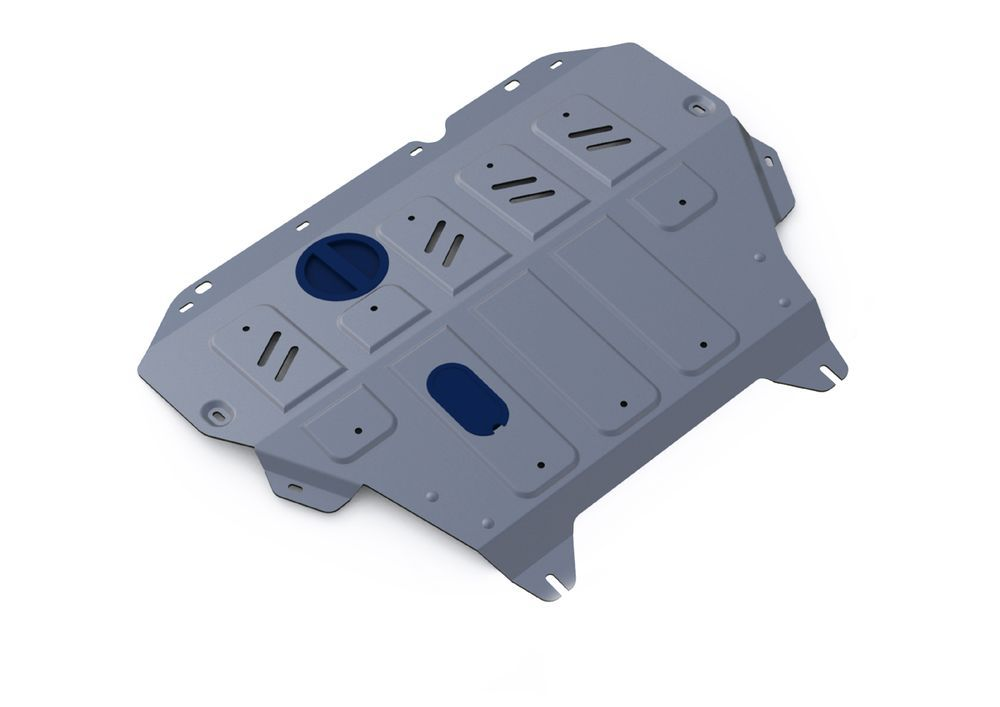 Защита картера и КПП Rival, для Nissan Sentra, алюминий 4 мм333.4151.1Защита картера и КПП для Nissan Sentra АКП, V-1,6 2014-, крепеж в комплекте, алюминий 4 мм, Rival Алюминиевые защиты картера Rival надежно защищают днище вашего автомобиля от повреждений, например при наезде на бордюры, а также выполняют эстетическую функцию при установке на высокие автомобили. - Толщина алюминиевых защит в 2 раза толще стальных, а вес при этом меньше до 30%. - Отлично отводит тепло от двигателя своей поверхностью, что спасает двигатель от перегрева в летний период или при высоких нагрузках. - В отличие от стальных, алюминиевые защиты не поддаются коррозии, что гарантирует срок службы защит более 5 лет. - Покрываются порошковой краской, что надолго сохраняет первоначальный вид новой защиты и защищает от гальванической коррозии. - Глубокий штамп дополнительно усиливает конструкцию защиты. - Подштамповка в местах крепления защищает крепеж от срезания. - Технологические отверстия там, где они необходимы для смены масла и слива воды, оборудованные заглушками, надежно закрепленными на защите. Уважаемые клиенты! Обращаем ваше внимание, на тот факт, что защита имеет форму, соответствующую модели данного автомобиля. Фото служит для визуального восприятия товара.