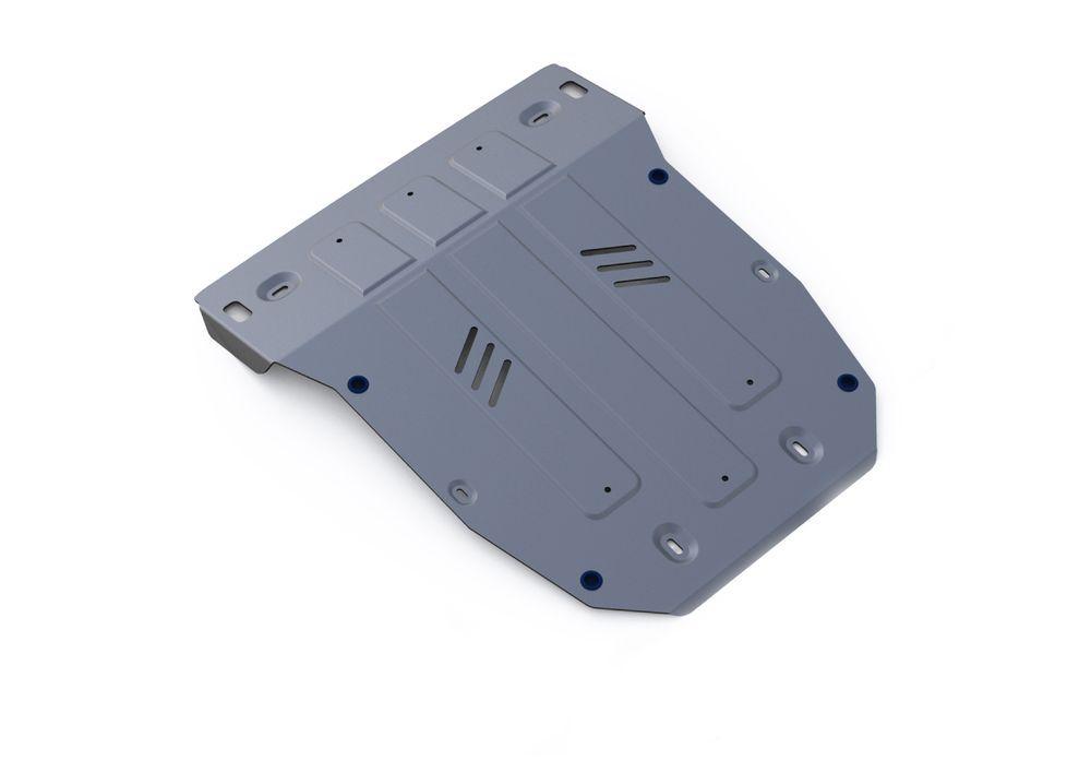 Защита картера Rival, для Porsche Cayenne, алюминий 4 мм333.4606.1Защита картера для Porsche Cayenne , V - 3,0TD; 4,1TD; 4,8T (Выводим) 2014-, крепеж в комплекте, алюминий 4 мм, Rival Алюминиевые защиты картера Rival надежно защищают днище вашего автомобиля от повреждений, например при наезде на бордюры, а также выполняют эстетическую функцию при установке на высокие автомобили. - Толщина алюминиевых защит в 2 раза толще стальных, а вес при этом меньше до 30%. - Отлично отводит тепло от двигателя своей поверхностью, что спасает двигатель от перегрева в летний период или при высоких нагрузках. - В отличие от стальных, алюминиевые защиты не поддаются коррозии, что гарантирует срок службы защит более 5 лет. - Покрываются порошковой краской, что надолго сохраняет первоначальный вид новой защиты и защищает от гальванической коррозии. - Глубокий штамп дополнительно усиливает конструкцию защиты. - Подштамповка в местах крепления защищает крепеж от срезания. - Технологические отверстия там, где они необходимы для смены масла и слива воды, оборудованные заглушками, надежно закрепленными на защите. Уважаемые клиенты! Обращаем ваше внимание, на тот факт, что защита имеет форму, соответствующую модели данного автомобиля. Фото служит для визуального восприятия товара.