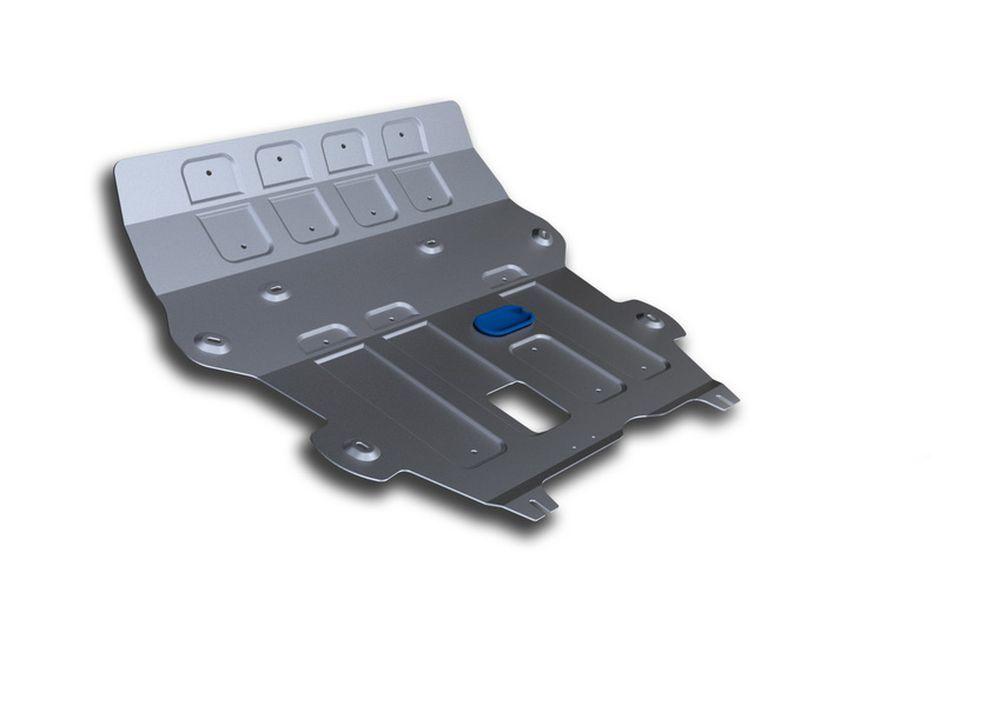 Защита картера Rival, Big для Nissan Terrano, алюминий 4 мм333.4704.1Защита картера Big для Nissan Terrano V - 1,6: 2,0 2014-, крепеж в комплекте, алюминий 4 мм, Rival Алюминиевые защиты картера Rival надежно защищают днище вашего автомобиля от повреждений, например при наезде на бордюры, а также выполняют эстетическую функцию при установке на высокие автомобили. - Толщина алюминиевых защит в 2 раза толще стальных, а вес при этом меньше до 30%. - Отлично отводит тепло от двигателя своей поверхностью, что спасает двигатель от перегрева в летний период или при высоких нагрузках. - В отличие от стальных, алюминиевые защиты не поддаются коррозии, что гарантирует срок службы защит более 5 лет. - Покрываются порошковой краской, что надолго сохраняет первоначальный вид новой защиты и защищает от гальванической коррозии. - Глубокий штамп дополнительно усиливает конструкцию защиты. - Подштамповка в местах крепления защищает крепеж от срезания. - Технологические отверстия там, где они необходимы для смены масла и слива воды, оборудованные заглушками, надежно закрепленными на защите. Уважаемые клиенты! Обращаем ваше внимание, на тот факт, что защита имеет форму, соответствующую модели данного автомобиля. Фото служит для визуального восприятия товара.