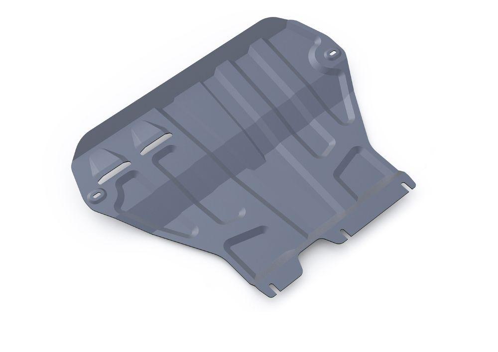 Защита картера и КПП Rival, для Skoda Octavia A7, алюминий 3 мм333.5111.1Защита картера и КПП для Skoda Octavia A7(кроме Webasto), V - 1,4TFSI; 1,8TSI; 1,6MPI 2013-, крепеж в комплекте, алюминий 3 мм, Rival Алюминиевые защиты картера Rival надежно защищают днище вашего автомобиля от повреждений, например при наезде на бордюры, а также выполняют эстетическую функцию при установке на высокие автомобили. - Толщина алюминиевых защит в 2 раза толще стальных, а вес при этом меньше до 30%. - Отлично отводит тепло от двигателя своей поверхностью, что спасает двигатель от перегрева в летний период или при высоких нагрузках. - В отличие от стальных, алюминиевые защиты не поддаются коррозии, что гарантирует срок службы защит более 5 лет. - Покрываются порошковой краской, что надолго сохраняет первоначальный вид новой защиты и защищает от гальванической коррозии. - Глубокий штамп дополнительно усиливает конструкцию защиты. - Подштамповка в местах крепления защищает крепеж от срезания. - Технологические отверстия там, где они необходимы для смены масла и слива воды, оборудованные заглушками, надежно закрепленными на защите. Уважаемые клиенты! Обращаем ваше внимание, на тот факт, что защита имеет форму, соответствующую модели данного автомобиля. Фото служит для визуального восприятия товара.