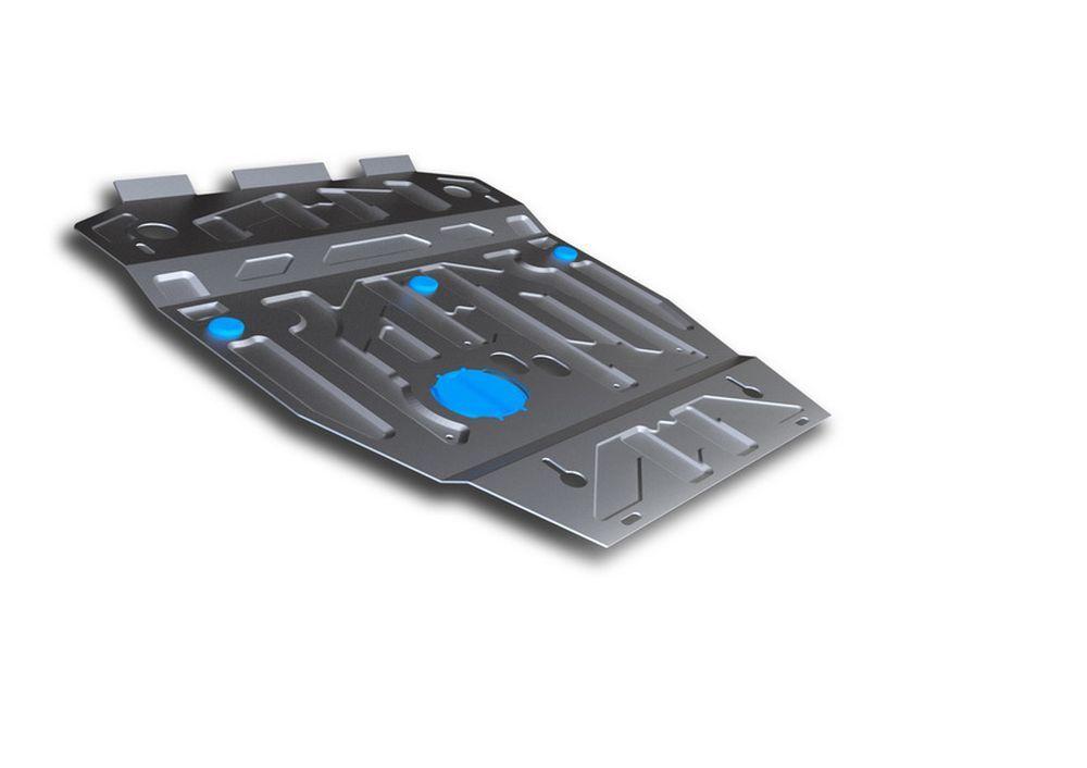 Защита картера Rival, для Suzuki Grand Vitara, алюминий 3 мм защита картера на кайрон купить в спб