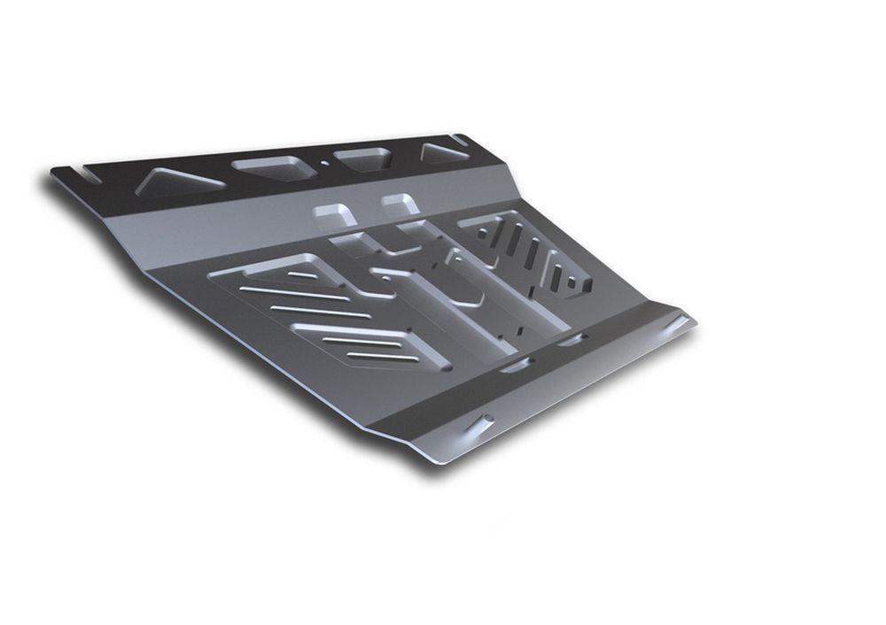 Защита КПП Rival, для Suzuki Grand Vitara, алюминий 3 мм333.5502.3Защита КПП для Suzuki Grand Vitara , V - все 2005-2012 2012-, крепеж в комплекте, алюминий 3 мм, Rival Алюминиевые защиты картера Rival надежно защищают днище вашего автомобиля от повреждений, например при наезде на бордюры, а также выполняют эстетическую функцию при установке на высокие автомобили. - Толщина алюминиевых защит в 2 раза толще стальных, а вес при этом меньше до 30%. - Отлично отводит тепло от двигателя своей поверхностью, что спасает двигатель от перегрева в летний период или при высоких нагрузках. - В отличие от стальных, алюминиевые защиты не поддаются коррозии, что гарантирует срок службы защит более 5 лет. - Покрываются порошковой краской, что надолго сохраняет первоначальный вид новой защиты и защищает от гальванической коррозии. - Глубокий штамп дополнительно усиливает конструкцию защиты. - Подштамповка в местах крепления защищает крепеж от срезания. - Технологические отверстия там, где они необходимы для смены масла и слива воды, оборудованные заглушками, надежно закрепленными на защите. Уважаемые клиенты! Обращаем ваше внимание, на тот факт, что защита имеет форму, соответствующую модели данного автомобиля. Фото служит для визуального восприятия товара.