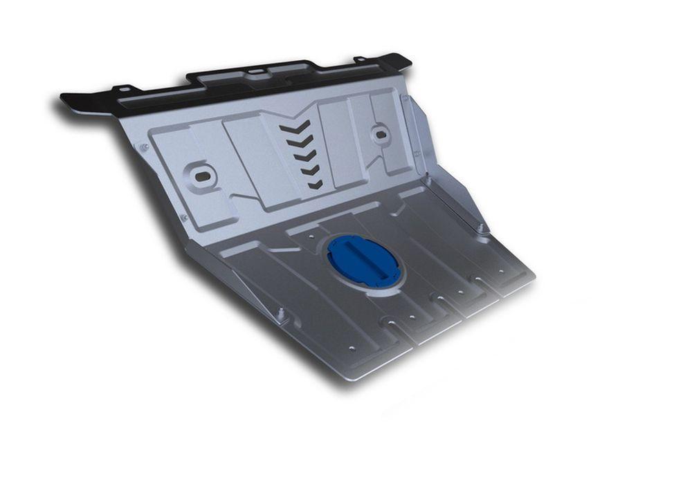 Защита картера Rival, для Lexus GX 460, 1 часть, алюминий 4 мм333.5783.1Защита картера часть 1 для Lexus GX 460 , V - 4,6 2009-, крепеж в комплекте, алюминий 4 мм, Rival Алюминиевые защиты картера Rival надежно защищают днище вашего автомобиля от повреждений, например при наезде на бордюры, а также выполняют эстетическую функцию при установке на высокие автомобили. - Толщина алюминиевых защит в 2 раза толще стальных, а вес при этом меньше до 30%. - Отлично отводит тепло от двигателя своей поверхностью, что спасает двигатель от перегрева в летний период или при высоких нагрузках. - В отличие от стальных, алюминиевые защиты не поддаются коррозии, что гарантирует срок службы защит более 5 лет. - Покрываются порошковой краской, что надолго сохраняет первоначальный вид новой защиты и защищает от гальванической коррозии. - Глубокий штамп дополнительно усиливает конструкцию защиты. - Подштамповка в местах крепления защищает крепеж от срезания. - Технологические отверстия там, где они необходимы для смены масла и слива воды, оборудованные заглушками, надежно закрепленными на защите. Уважаемые клиенты! Обращаем ваше внимание, на тот факт, что защита имеет форму, соответствующую модели данного автомобиля. Фото служит для визуального восприятия товара.