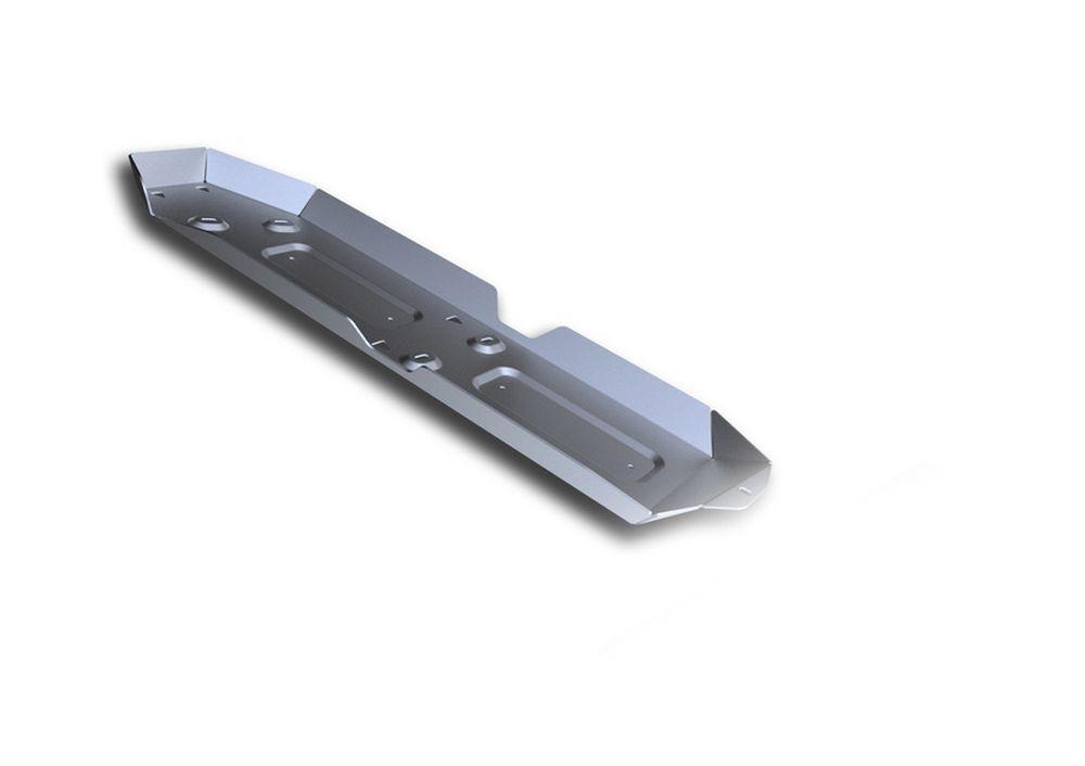 Защита топливного бака Rival, для Volkswagen Amarok, алюминий 4 мм333.5821.1Защита топливного бака для Volkswagen Amarok , V - 2.0 TDI 2016-, крепеж в комплекте, алюминий 4 мм, Rival Алюминиевые защиты картера Rival надежно защищают днище вашего автомобиля от повреждений, например при наезде на бордюры, а также выполняют эстетическую функцию при установке на высокие автомобили. - Толщина алюминиевых защит в 2 раза толще стальных, а вес при этом меньше до 30%. - Отлично отводит тепло от двигателя своей поверхностью, что спасает двигатель от перегрева в летний период или при высоких нагрузках. - В отличие от стальных, алюминиевые защиты не поддаются коррозии, что гарантирует срок службы защит более 5 лет. - Покрываются порошковой краской, что надолго сохраняет первоначальный вид новой защиты и защищает от гальванической коррозии. - Глубокий штамп дополнительно усиливает конструкцию защиты. - Подштамповка в местах крепления защищает крепеж от срезания. - Технологические отверстия там, где они необходимы для смены масла и слива воды, оборудованные заглушками, надежно закрепленными на защите. Уважаемые клиенты! Обращаем ваше внимание, на тот факт, что защита имеет форму, соответствующую модели данного автомобиля. Фото служит для визуального восприятия товара.
