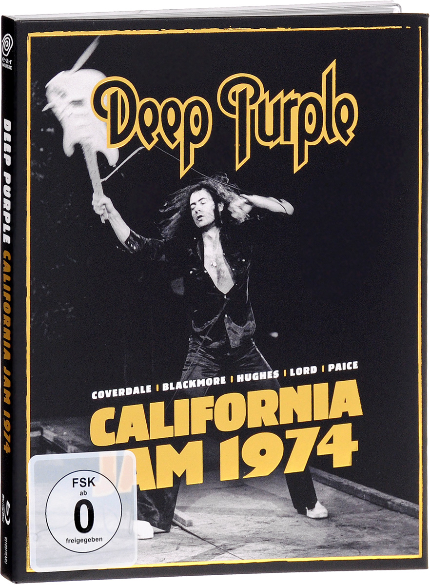 Deep Purple: California Jam 74 (Blu-ray) deep purple deep purple stormbringer 35th anniversary edition cd dvd