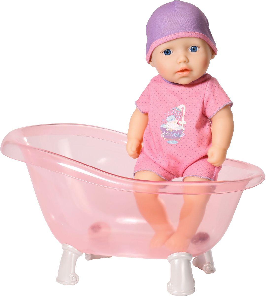 Baby Annabell Игровой набор с куклой My First В ванной кукла zapf creation my first baby annabell 794 463