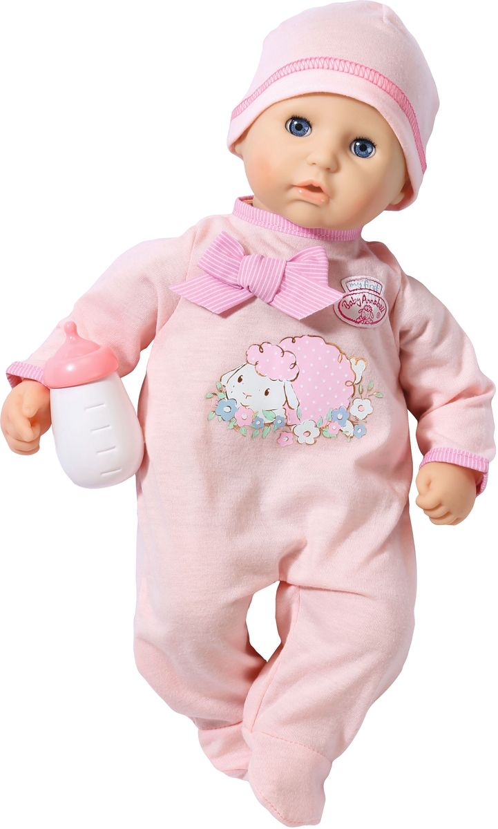 Baby Annabell Пупс My First с бутылочкой free shipping new original 2sa2222 2sc6144 10pcs a2222 10pcs c6144