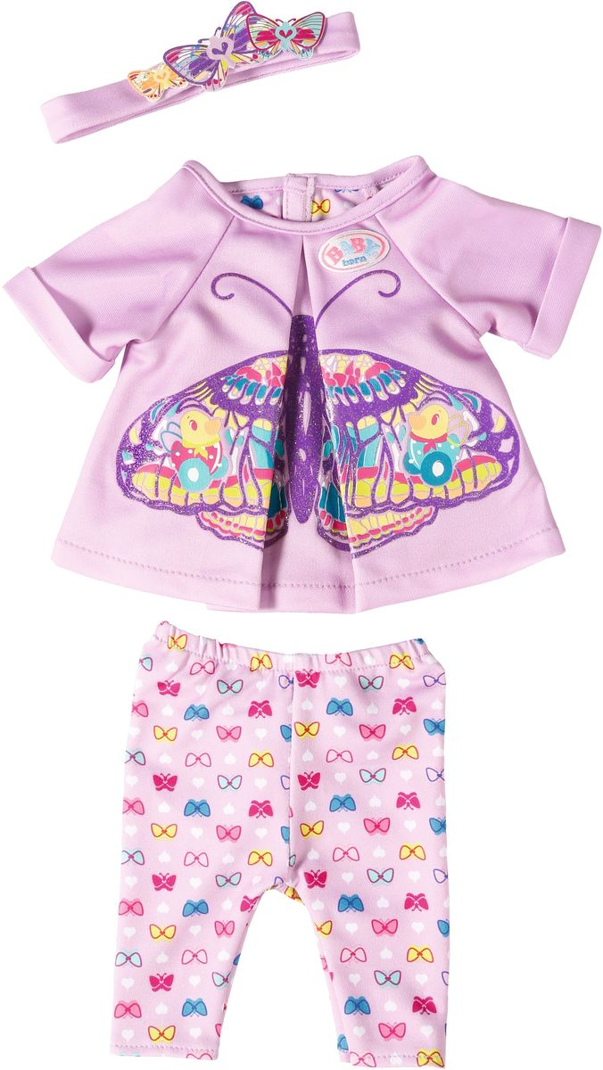 Baby Born Одежда для кукол Удобный комплект для дома аксессуары для кукол zapf игрушка baby annabell памперсы