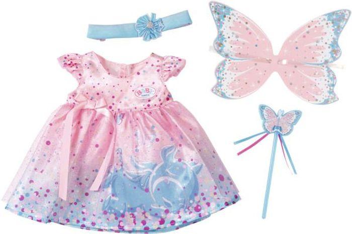 Baby Born Платье феи кукла funville brilliance fair с диадемой и волшебной палочкой