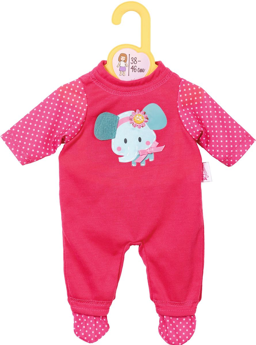 Baby Born Комбинезон для куклы цвет розовый baby born подгузники для куклы