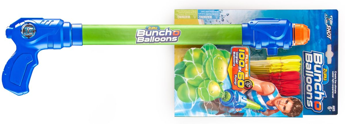 Zuru Водяное оружие Bunch O Balloons с оружием-насосом